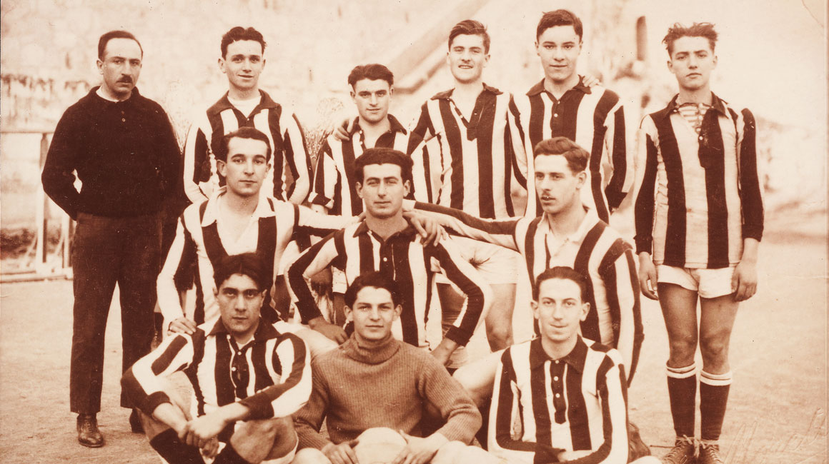 Il y a 100 ans, l'AS Monaco faisait un premier pas…