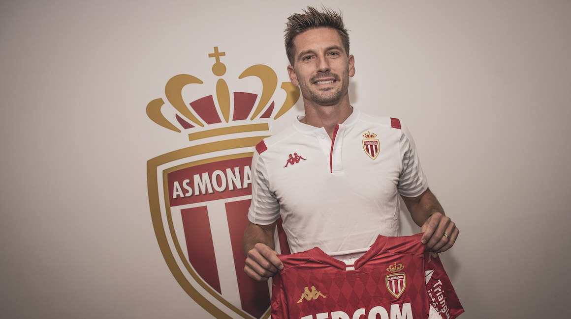 Adrien Silva no AS Monaco