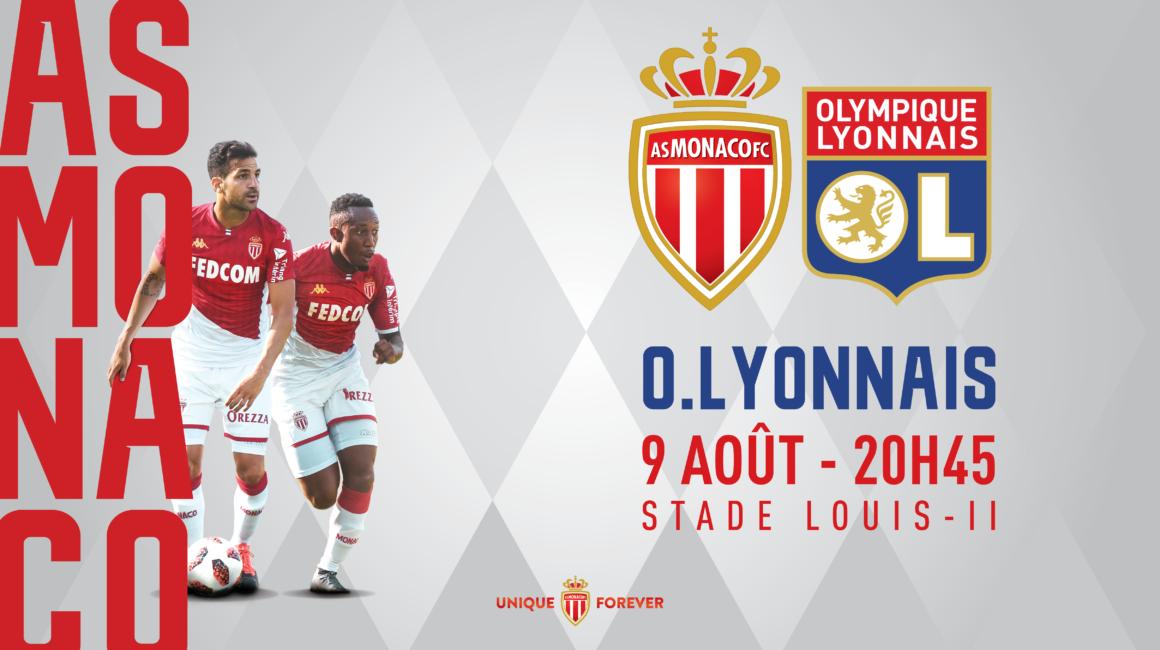AS Monaco - OL : infos billetterie