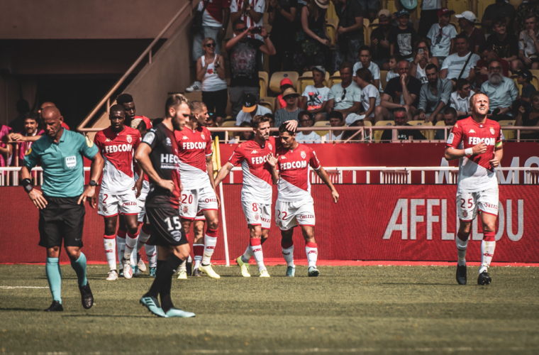AS Monaco - Nîmes en images