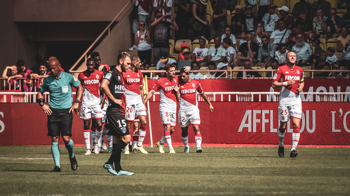 AS Monaco - Nîmes en images