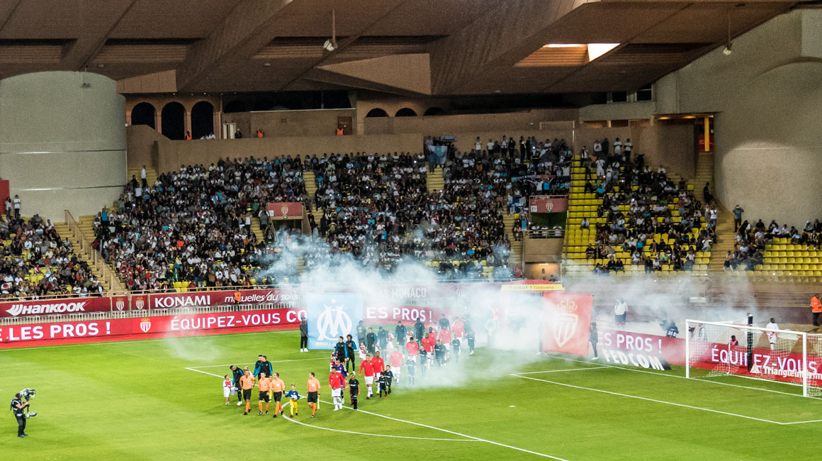 AS Monaco - OM programmé le 15 septembre à 21h