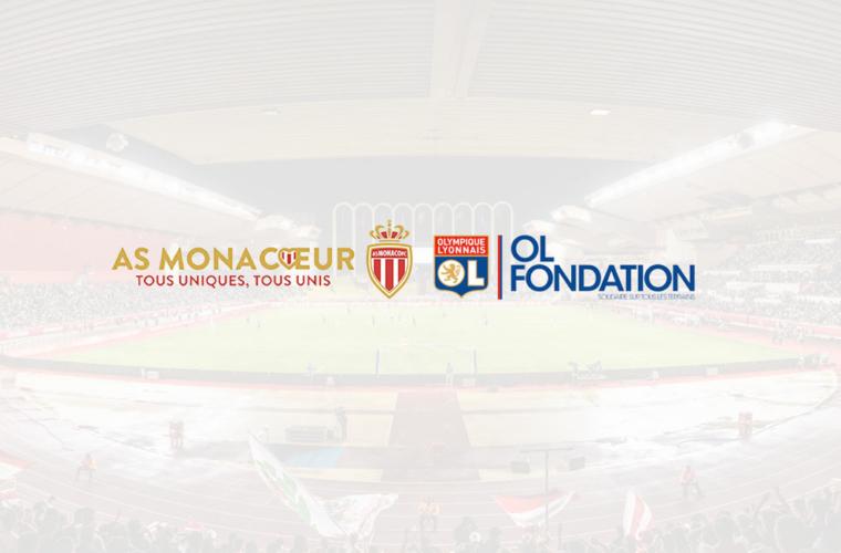 AS Monaco - OL : opération solidaire commune