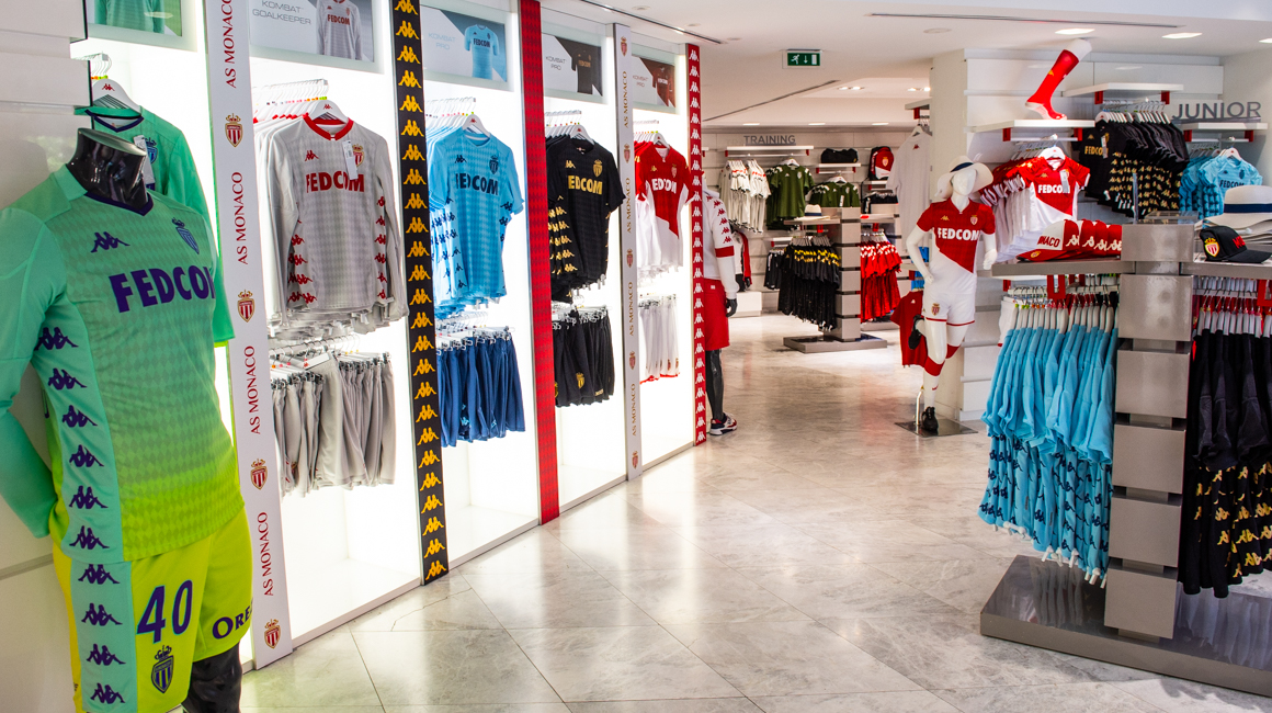 Boutique Officielle<br>AS Monaco x Kappa