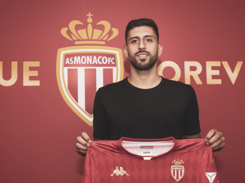Guillermo Maripán llegó al AS Monaco