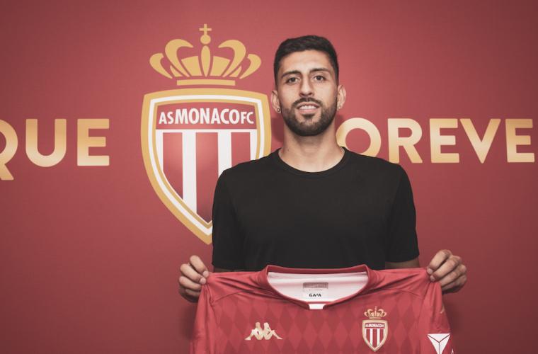 Guillermo Maripán no AS Monaco