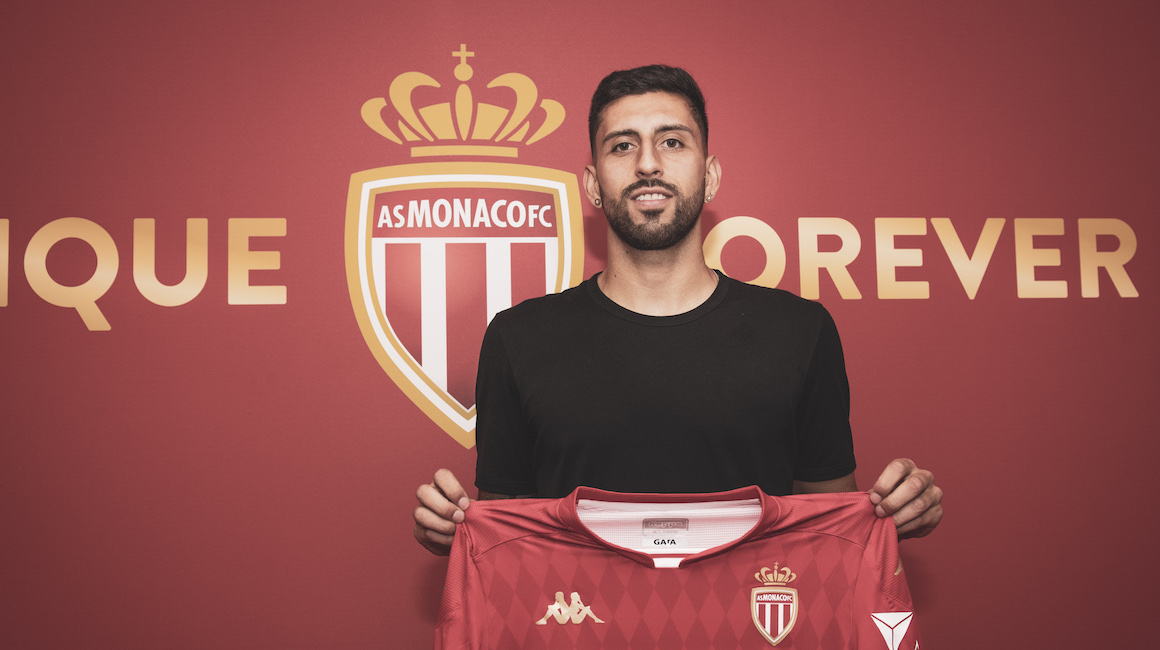 Guillermo Maripán no AS Monaco
