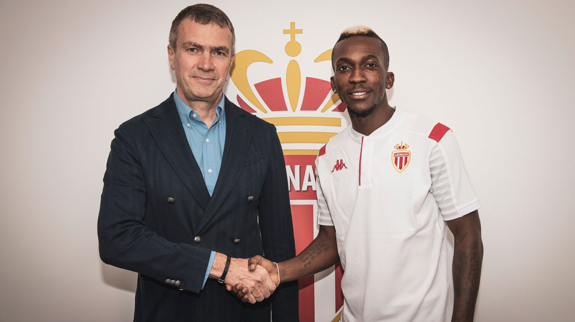 Henry Onyekuru no AS Monaco