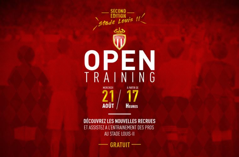 Open Training au Stade Louis-II mercredi