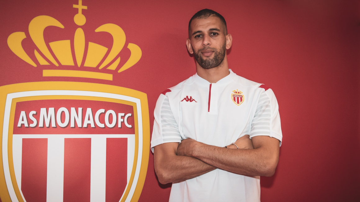 Islam Slimani no AS Monaco