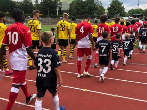 Les U19 à Dortmund