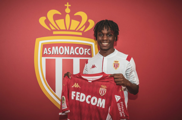 Arthur Zagre à l'AS Monaco
