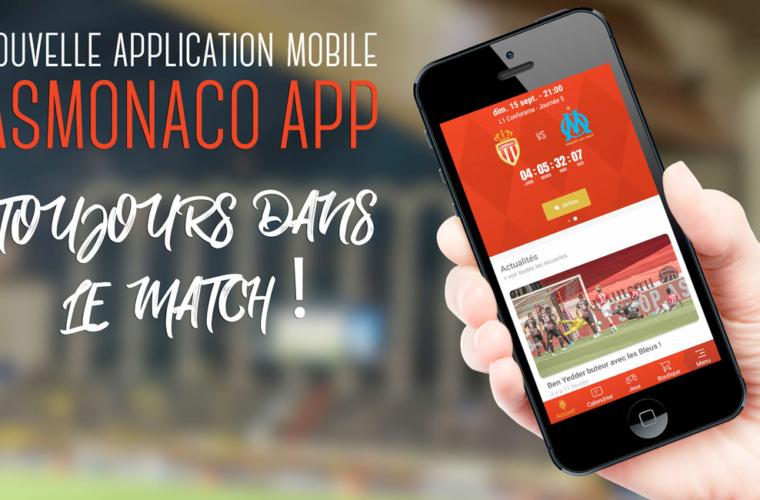 Vibrez plus fort avec ASMonaco App !