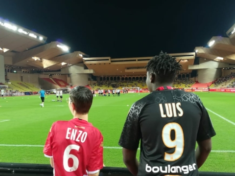 Action solidaire pour AS Monaco-OM