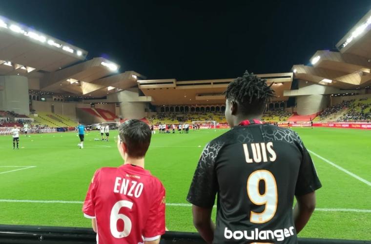 La solidaridad dijo presente en el AS Monaco vs OM
