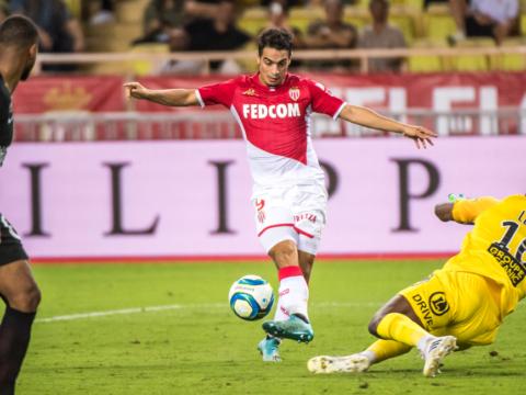 Wissam Ben Yedder on his own pitch
