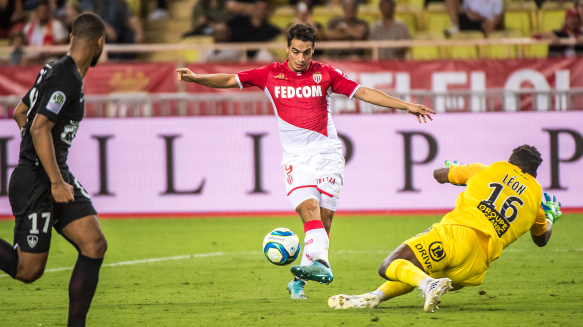 Wissam Ben Yedder on his own pitch