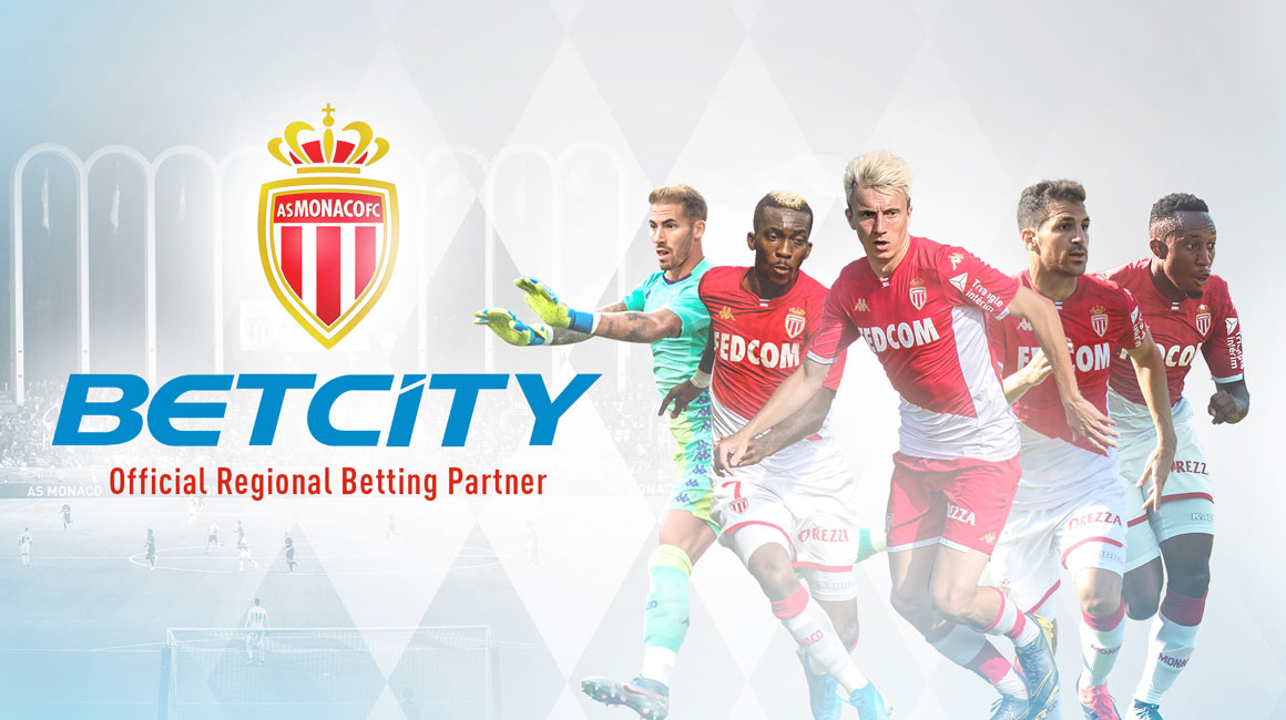 BetCity becomes AS Monaco's official « regional betting partner » in Russia