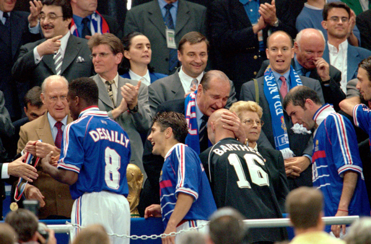 Homenaje a Jacques Chirac