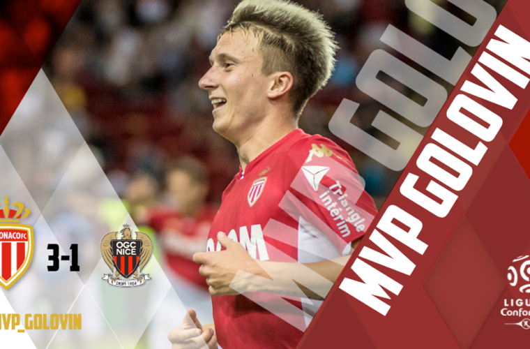 Golovin é eleito o MVP do derby