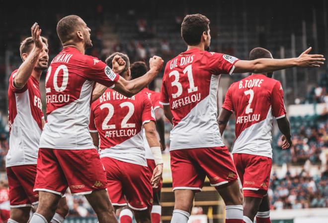 Главные моменты матча : «Страсбур» 2-2 «Монако»