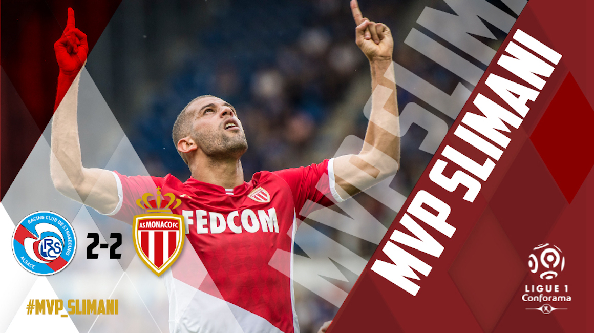 Slimani elected MVP by the users of the application