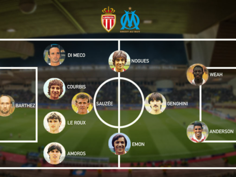 Monaco and OM Legends XI