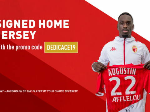 Buy the shirt of your favorite player, and receive it autographed!