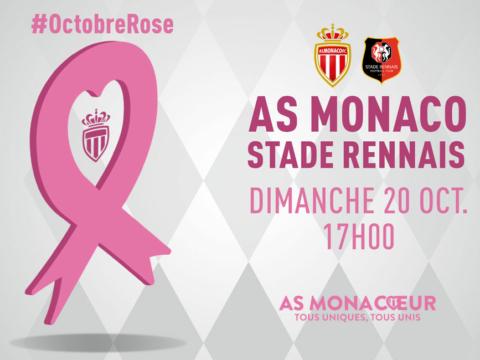 L'AS Monaco soutient Octobre Rose