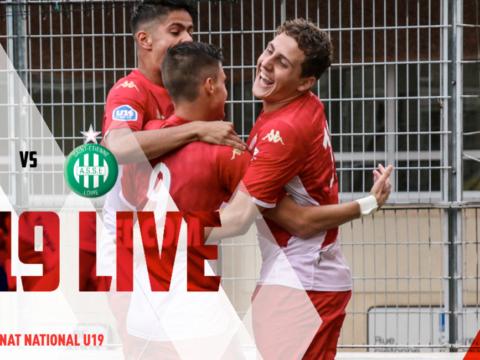 (U19)AS Monaco - AS Saint-Etienne en live