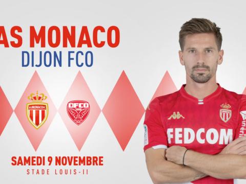 Venez encourager l'AS Monaco contre Dijon !