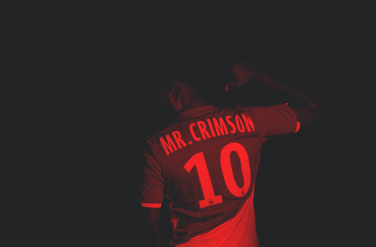 At home with... Mr. Crimson