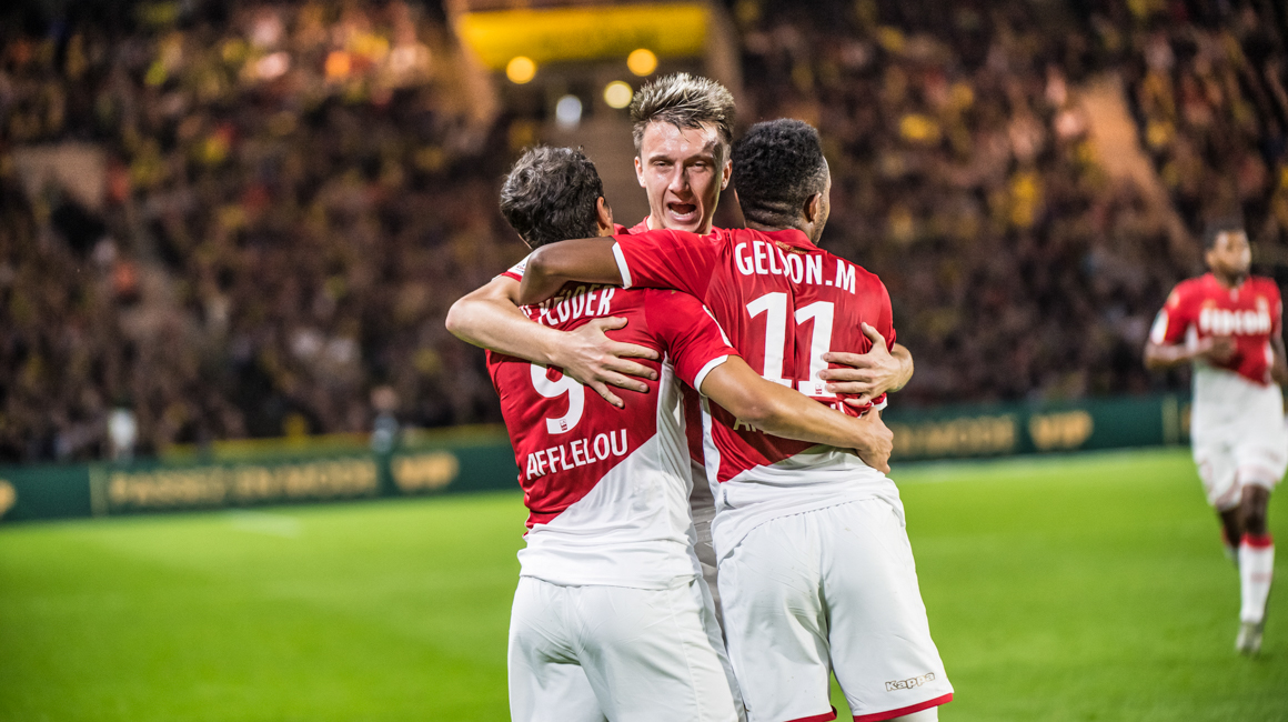Le groupe pour AS Monaco - PSG