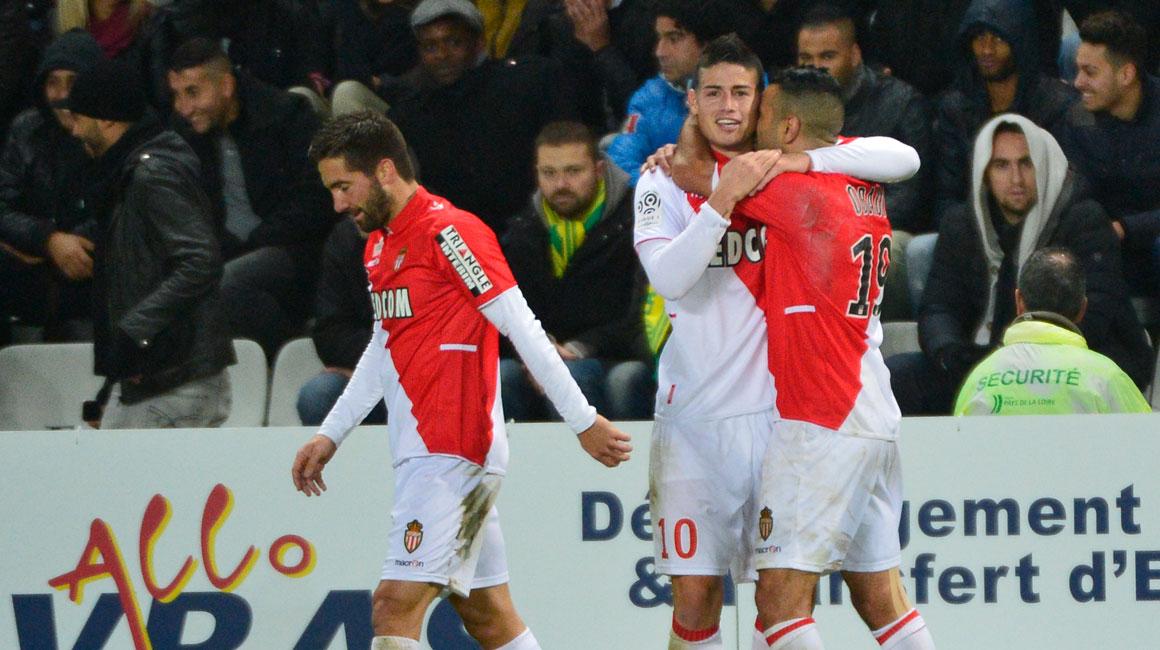 Cinco golazos del Monaco ante Nantes