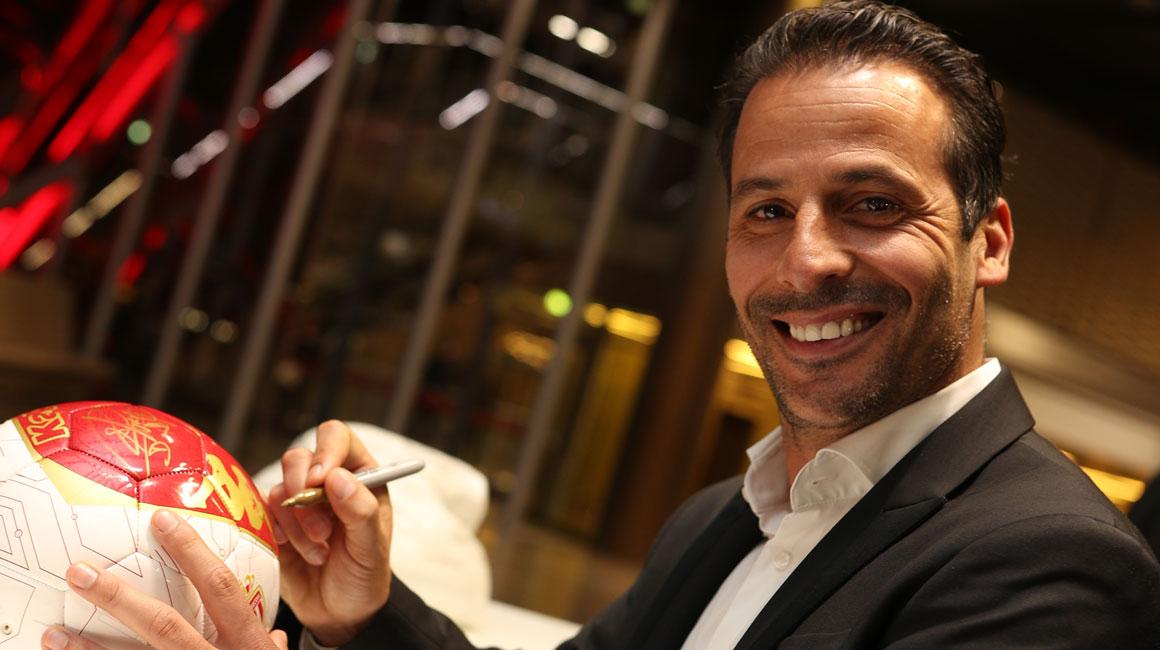 """Ludovic Giuly: """"Si ganamos, estaré aún más orgulloso"""""""