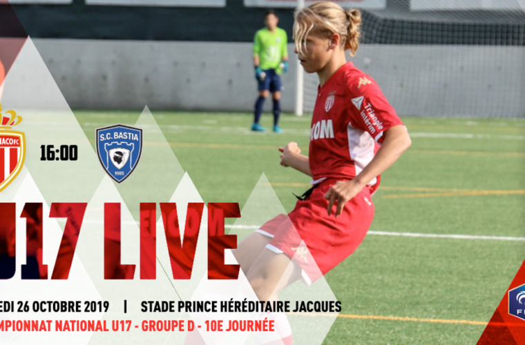 (U17) AS Monaco - SC Bastia en live