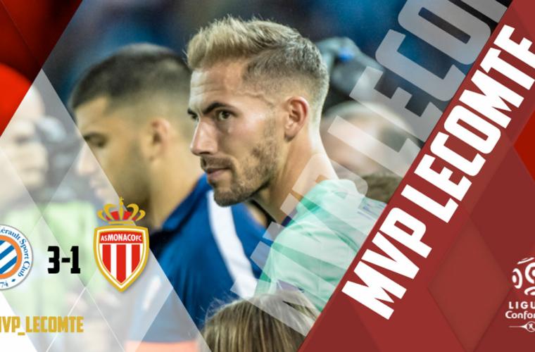 Benjamin Lecomte élu MVP face à Montpellier