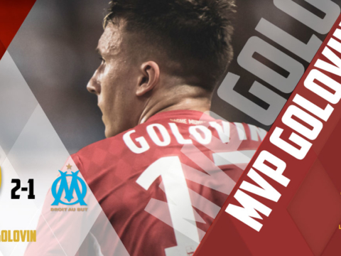 Aleksandr Golovin named MVP of AS Monaco - OM