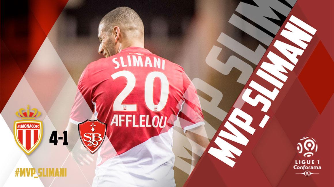 MVP: Slimani novamente
