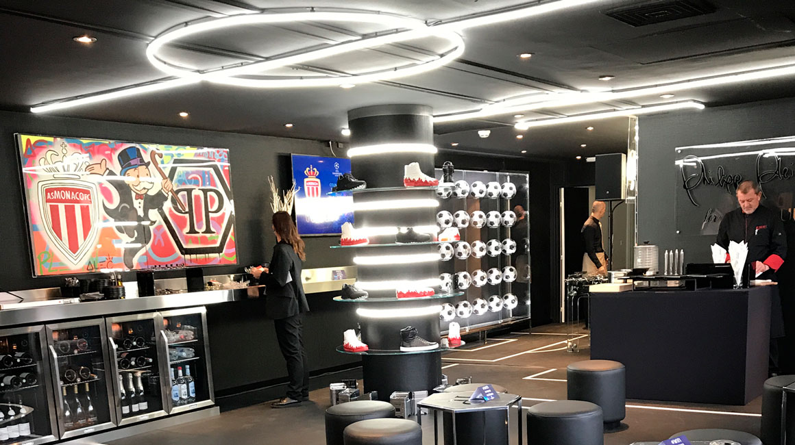 Philipp Plein Lounge,<br>the place to be