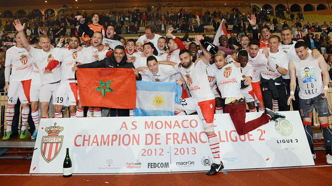2013 : quand Monaco ajoute la Ligue 2 à son palmarès