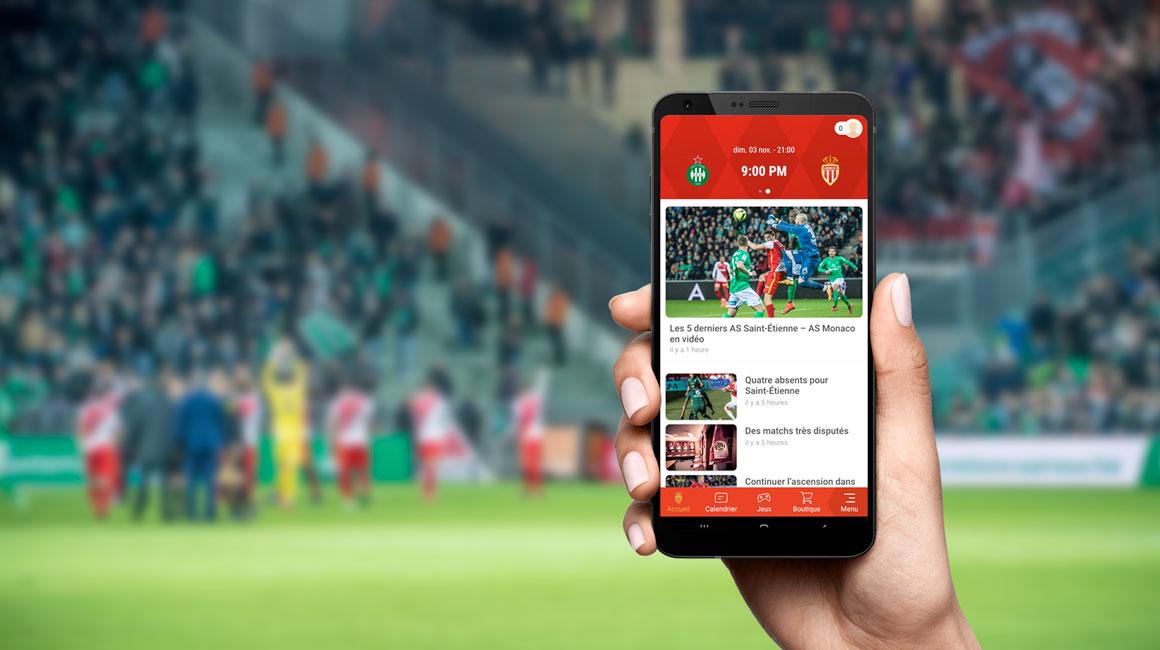 AS Saint-Étienne - AS Monaco en live à 21h