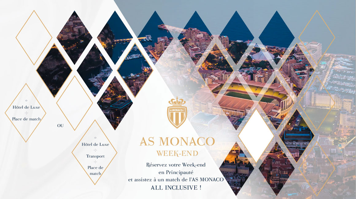 Treat yourself to a dream weekend for AS Monaco - PSG