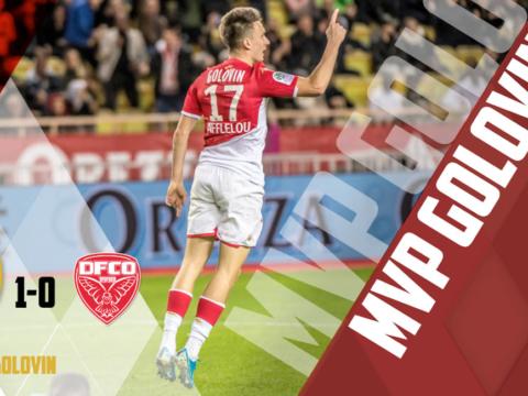 MVP : Golovin élu pour la quatrième fois