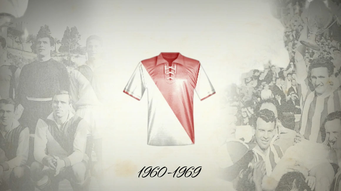 The Diagonal jersey, designed by Princess Grace