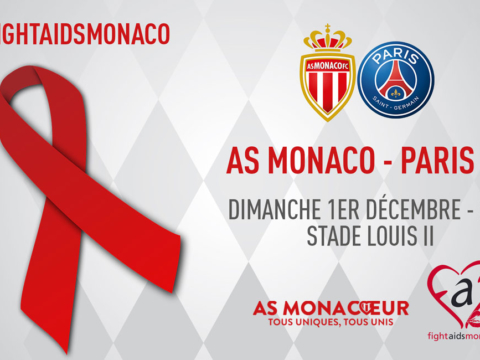 L'AS Monaco soutient Fight Aids Monaco