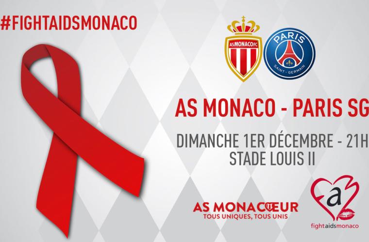 AS Monaco supports Fight Aids Monaco