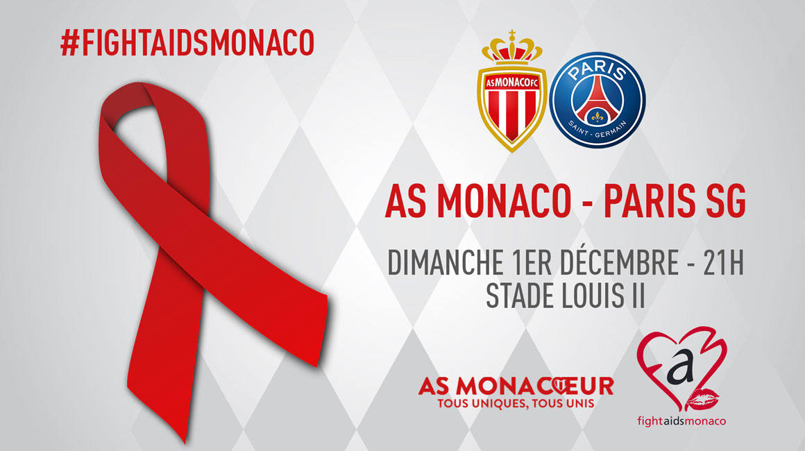 AS Monaco supports Fight Aids Monaco