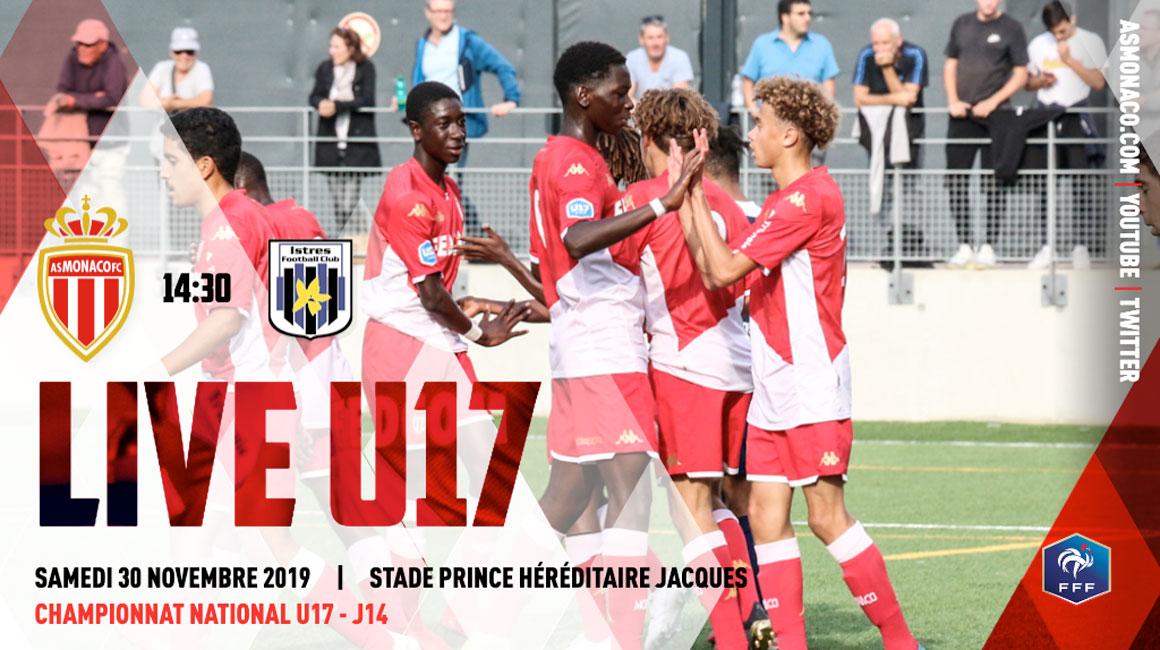 (U17) AS Monaco - FC Istres en live