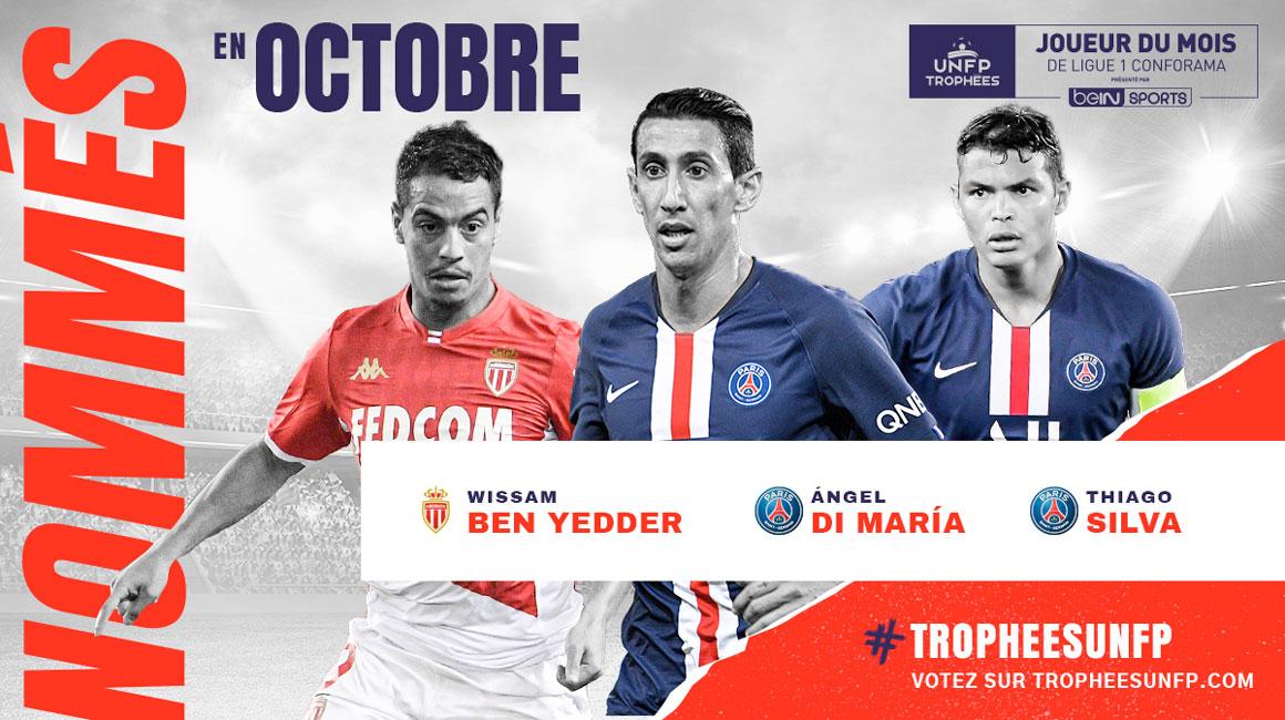 Виссам Бен-Йеддер номинирован на звание лучшего игрока октября